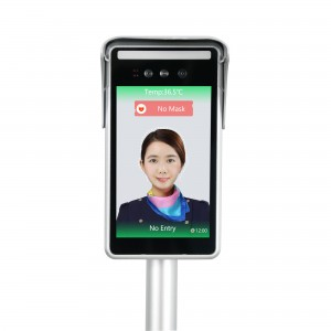 Floor-Standing Support Multiple Languages Attendance Function Face Recognize Smart Temperature Thermal Camera