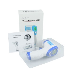 In Stock CE FDA Approved No Contact Dc 3V Digital Head Touchless Thermometer Forehead
