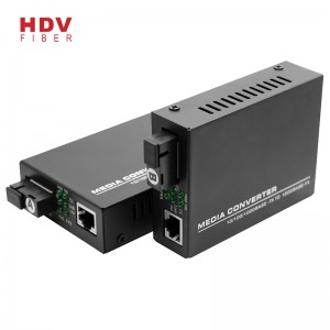 For Rj45 10/100/1000M 20km Single Fiber Single Mode Ethernet Fiber Media Converter