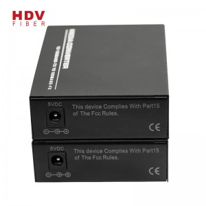 10/100m Single Port 20KM Sc Fiber Media Converter