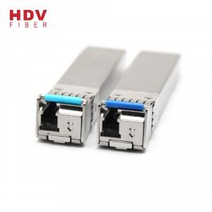 SFP 10G bidi 1270nm/1330nm optical fiber transceiver 20KM sfp module 10g