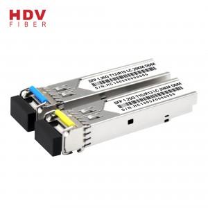20km Single Mode Lc Connector 1.25g Single Fiber Sfp Transceiver Optic Module