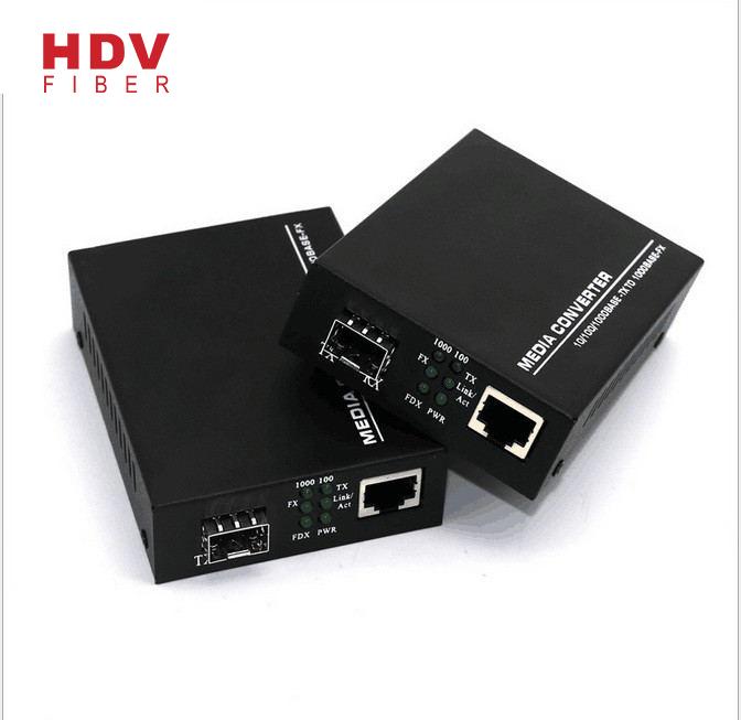 10/100/1000M SFP media converter Featured Image