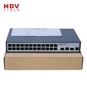 Factory Wholesale Cheap Network Oem Ethernet 24 port fiber switch