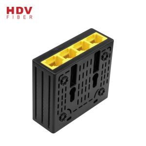 Telecommunication Equipment 4Rj45 10 / 100 Mbps fiber optic to rj45 Mini media converter
