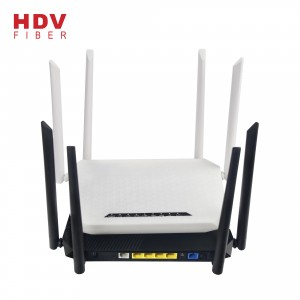 Support OEM ODM 4GE+4WIFI+1POTS+1USB 2.4G&5G Xpon ONU AC