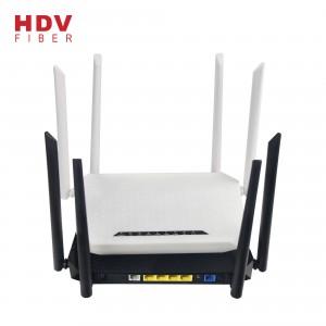 Support OEM ODM 4GE+4WIFI+1POTS+1USB 2.4G&5G Xpon ONU AC