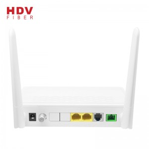 High Quality Router Support FTTH 1GE+1FE  Wifi CATV PHONE GPON XPON ONU