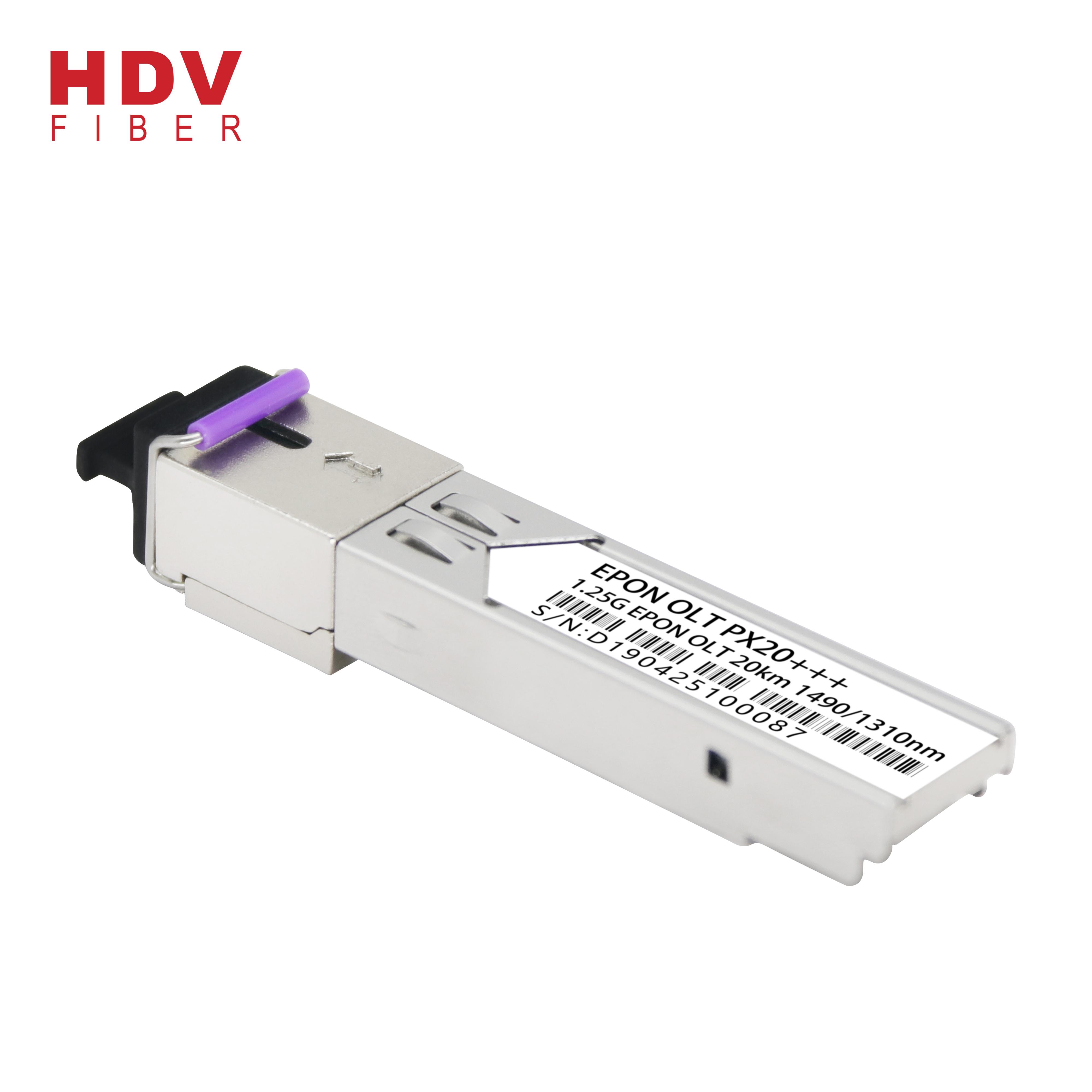 pon module 20km 1.25G px20+++ sfp module epon olt px20 7dBm epon olt sfp transceiver Featured Image