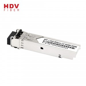 1,25 g Sfp Modul 850nm Multi-läge 550m Ddm Lc Interface Dual Mode Sfp Fiber Transceiver Module