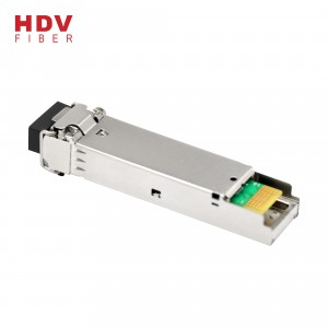1.25g Sfp Module 850nm Multi mode 550m Ddm Lc Interface Dual Mode Sfp Fiber Transceiver Module