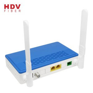 New Design Dual Mode 1G1F Catv And Wifi Xpon Compatible with GPON and EPON Onu/ont