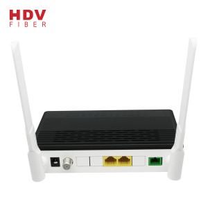 XPON Both Gpon and Epon ONU 1GE 1FE WIFI CATV with Realtek chipset