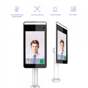 Human Body Measurement Thermal Detection Face Recognition Camera With Temperature Sensor