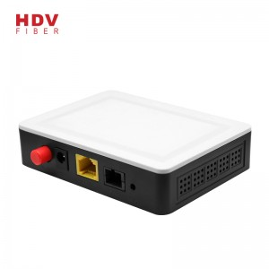 New Fashion Design for 2ge Lan Port Wifi - 1GE single port gpon ont fiber optic huawei gpon onu – HDV