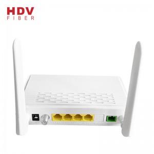 PriceList for Single Core Fiber Module - XPON Both Gpon and Epon ONU 1GE 3FE WIFI CATV for Family Gateway 1G3F CATV WIFI with 2 Antennas – HDV