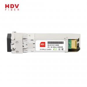 10G 1550nm 40KM LC connector dual fiber optic SFP+ module