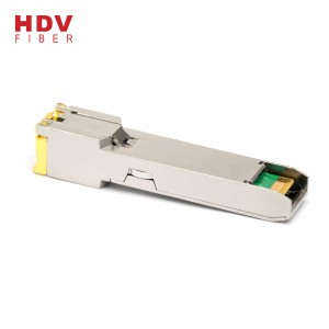 sfp module one port rj45 10/100/1000M Base-T 100m optical transceiver sfp copper