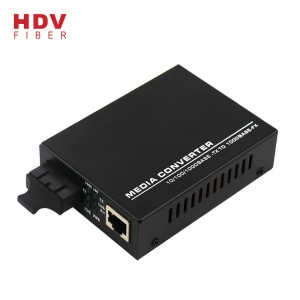 10/100M dule fiber optic Media converter